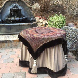 No Harm Done Design tablecloth